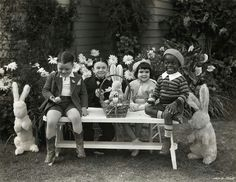 Easter... The Little Rascals. How cute!!