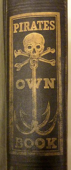 Book spine...Pirates Own Book, 1924