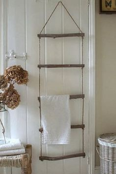 réalisation d'un porte serviette