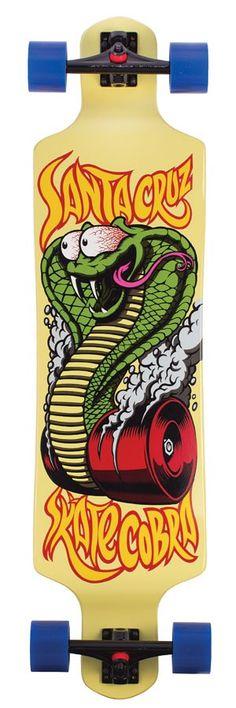 Santa Cruz Skate Cobra Drop Down Complete