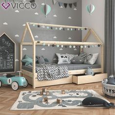 - VICCO children's bed WIKI cm untreated play bed house bed natural children's house incl. Toddler Boy Room Decor, Boys Room Decor, Toddler Bed, Play Beds, Kid Beds, Kids Bedroom Designs, Kids Room Paint, Design Room, Childrens Beds