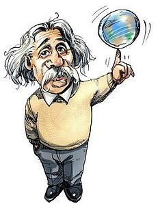 Einstein: The Positive Thinker Science Week, Science Fair, Philosophy Of Science, Positive Thinker, Modern Physics, Theory Of Relativity, Secret To Success, Albert Einstein, Cartoon Characters