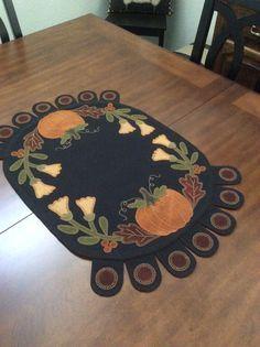 Fall penny rug