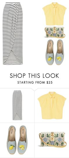 """Step into Summer: Espadrilles"" by juuliap ❤ liked on Polyvore featuring New Look, MANGO, Soludos and Dolce&Gabbana"
