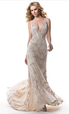40's Hollywood Glam~ Maggie Sottero 2014 Bridal Collection via Belle The Magazine    jaglady