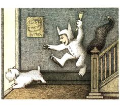 """Where the Wild Things Are"" written and illustrated by Maurice Sendak"