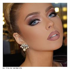 Beguiling Facial Makeups for Ladies - Ani Exclusive Kiss Makeup, Glam Makeup, Makeup Inspo, Bridal Makeup, Wedding Makeup, Makeup Inspiration, Beauty Makeup, Eye Makeup, Hair Makeup