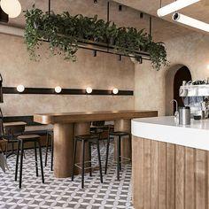 Cafe Shop Design, Restaurant Interior Design, Small Restaurant Design, Commercial Design, Commercial Interiors, Estilo Interior, Bar Design Awards, Hospitality Design, Cafe Bar