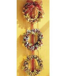 Three's A Charm Wreaths
