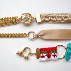 リボンを金具につなげる方法は色々ありますので、好みや素材に合ったつなぎ方を選んでみてください!...