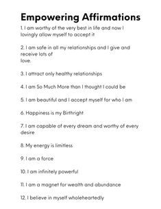 Vie Positive, Positive Affirmations Quotes, Self Love Affirmations, Morning Affirmations, Affirmation Quotes, Positive Quotes, Affirmations For Success, Healing Affirmations, Spiritual Manifestation