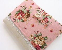 Ipad mini case pocket, Ipad mini cover, Ipad mini sleeve-Rose pink.