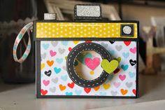 manualinma: Mini- album cámara de fotos.