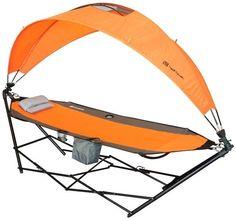 Folding Portable Camping Hiking Hammock W Canopy Beach Sleeping Lounge Chair New #Driftsun #Camping #Hiking #Sleeping #Outdoor