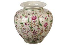 "11"" Trellis Flora Round Vase on OneKingsLane.com"