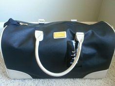 Nicole Miller black tote in Clothing, Shoes & Accessories, Women's Handbags & Bags, Handbags & Purses | eBay
