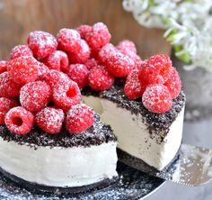 r - Franciskas Vakre Verden Oreo Dessert, Dessert Drinks, Yummy Drinks, No Bake Desserts, Delicious Desserts, Foods Without Sugar, Cake Recipes, Dessert Recipes, Norwegian Food