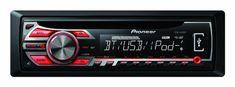 DEH-4500BT CD/MP3/USB/Bluetooth/iPod car radio 1 year warranty.  #Pioneer #CarAudioOrTheater