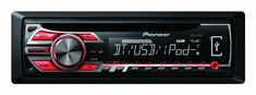 DEH-4500BT CD/MP3/USB/Bluetooth/iPod car radio 1 year warranty.  #Pioneer #CarAudioOrTheater