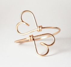 Heart wire ring | jewelry