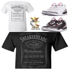 75eab08a3bc7 Details about EXCLUSIVE TEE T SHIRT 4 to match NIKE AIR JORDAN 3  CEMENTS JTH   ELEPHANT PRINTS