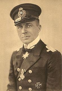 Lothar von Arnauld de la Perière. Top submariner in history, from 1914-18 he sank 194 ships, including 5 warships. Thankfully, he survived the War.