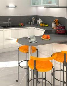 Plan maison moderne Bleuet - maison familiale Maisons Clair Logis Architecture, Table, Furniture, Home Decor, Blueberry, Homes, Arquitetura, Decoration Home, Room Decor