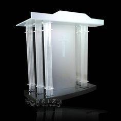 clear church pulpit. Size:110X50X110cm. Price:890 USD.