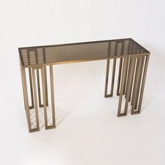 PARAGON CONSOLE TABLE BASE 6840B-01 from Donghia, Inc.