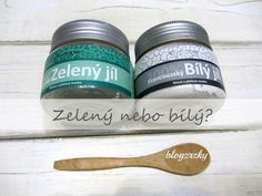 Blog Zrzky: Mama tip / Zelený versus bílý jíl