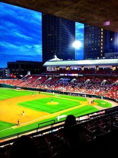 Buffalo Bisons baseball , Buffalo NY July 6, 2013