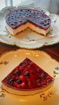 Nepečený tvarohový dort bez mouky s ovocem. Autor: Jasmina Ben Pancakes, Breakfast, Food, Author, Morning Coffee, Essen, Pancake, Meals, Yemek