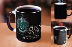 Harry Potter Slytherin Robe Personalized Morphing Mug