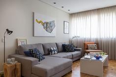 Open house | Luiza Zaidan. Veja: http://casadevalentina.com.br/blog/detalhes/open-house--luiza-zaidan-3195 #decor #decoracao #interior #design #casa #home #house #idea #ideia #detalhes #details #openhouse #style #estilo #casadevalentina #livingroom #saladeestar
