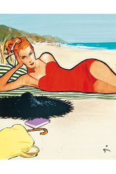 """RENE GRUAU's world-famous fashion illustrations epitomise the glamour and sophistication of Fifties couture -  gracing the era's most iconic magazines and advertisements, from Vogue to Balenciaga, Balmain and Lanvin; as well as being a """"key figure in Christian Dior's marketing team"""" - but what makes his work so special?"""