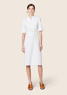 Short Sleeve Belted Shirtdress