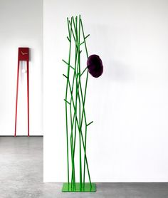 Latva is an original coat rack based on a simple yet visually solid motif of a tree branch. Available on FormAdore.com