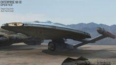 Pierre Drolet Sci-Fi Museum - StarShip Star Trek Starships, Star Trek Enterprise, Starfleet Ships, Ship Of The Line, Star Trek Ships, Star Trek Universe, Star Trek Tos, Stargate, Visual Effects