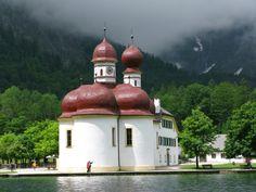 St Bartholomew's Church. Konigssee, Germany
