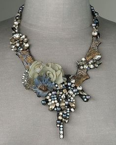 Love at First Sight: Mixed-Media Necklace from Ranjana Khan