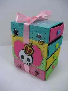 Kawaii Candy Drawers - Matchbox