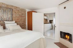 brick in the bedroom