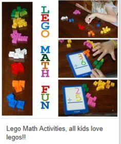 Lego math fun activities