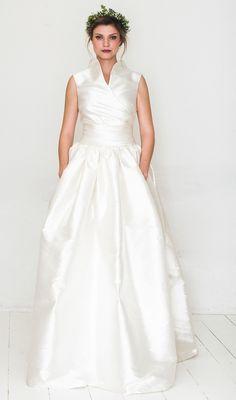 elfenkleid: feel modern yet romantic white poppy One Shoulder Wedding Dress, Wedding Inspiration, Romantic, Lifestyle, Wedding Dresses, Poppy, Fashion, Floaty Wedding Dress, Perfect Wedding Dress
