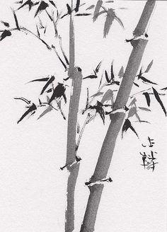 chinese art | Lin Lis Chinese Art: Chinese Brush Painting Bamboo