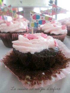 Cupcakes girly {au chocolat}