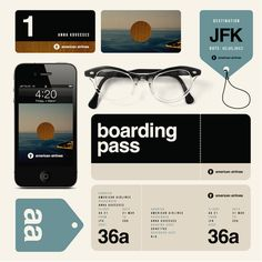American Airlines redesign by Anna Kovecses