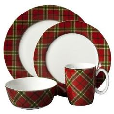 178 best Tartan and plaid dishes images on Pinterest | Christmas ...