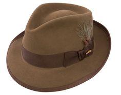 Stetson Whippet Vintage Fur Felt Fedora