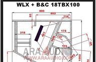 Skema box WLX 18 inch Monitor Speakers, Diy Speakers, Subwoofer Box Design, Speaker Plans, Horn, Bass, Audio, How To Plan, Klipsch Speakers